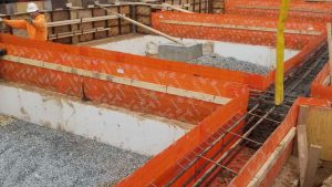 Novoform™ can be used in a variety of projects. Platform Construction made them work in above ground applications! – West Virginia